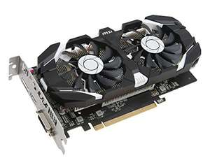 Amazon: MSI GTX 1050 TI 4GT OC