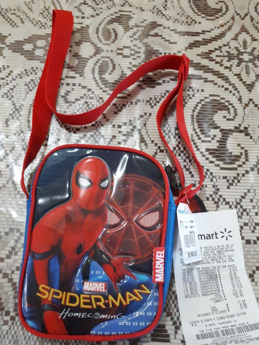 Walmart Macroplaza Puerto Vallarta: bolsita Spiderman a $20.01