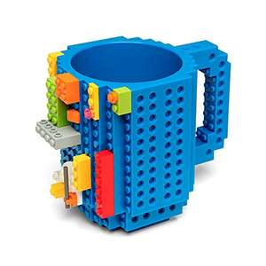 Amazon: Taza Azul de Lego en 240