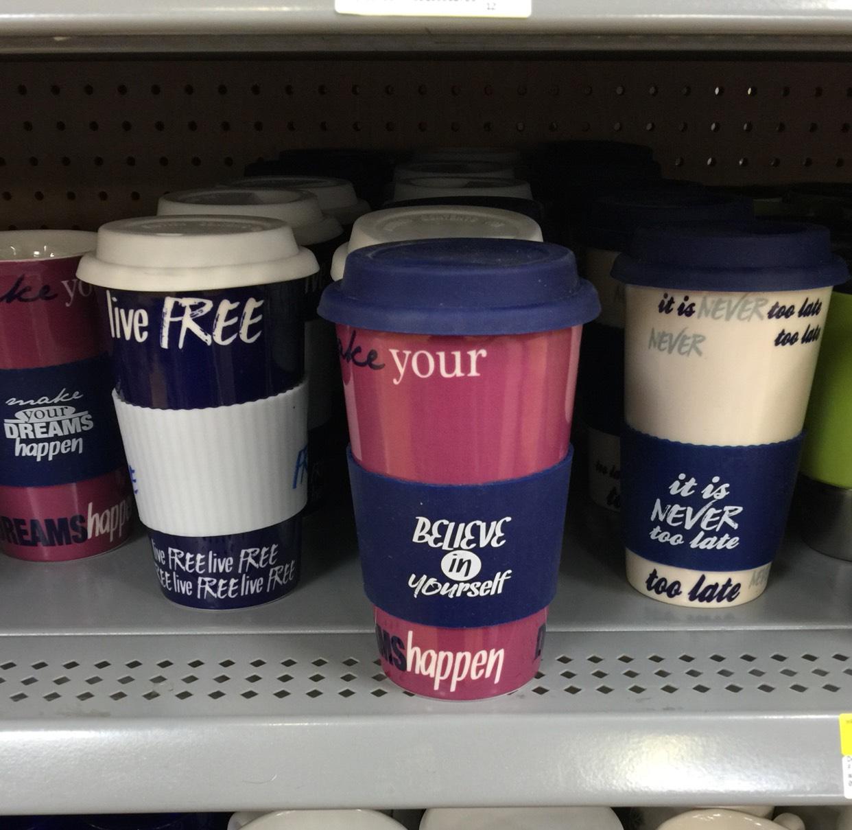Walmart: Termo de cerámica con tapa $27.03