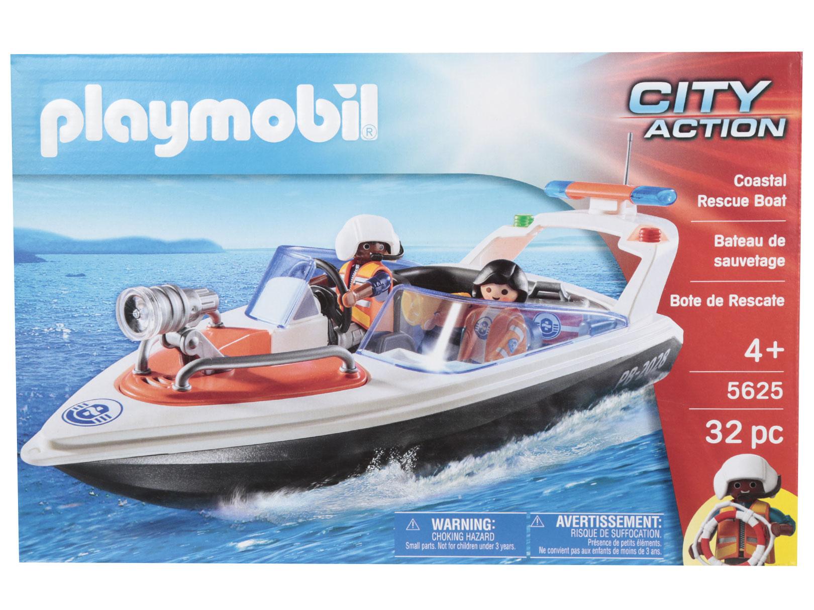 Liverpool: Bote de rescate Playmobil