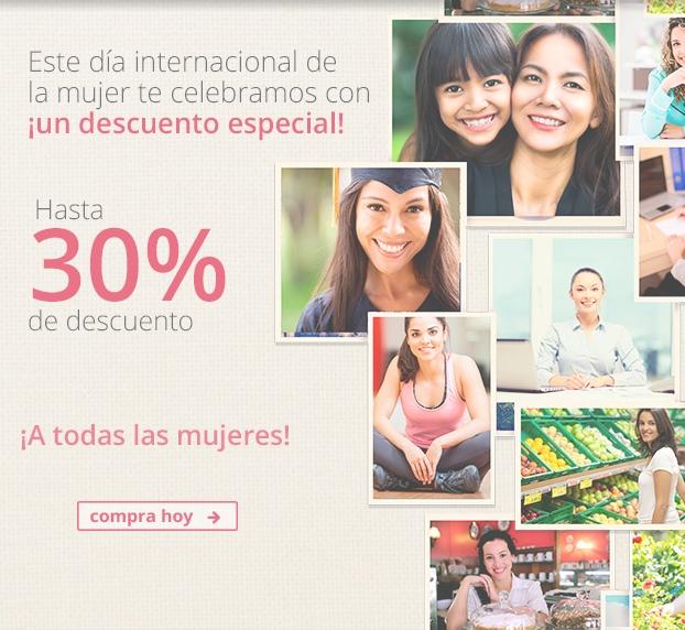 Interjet: Hasta 30% de descuento por Día Internacional de la Mujer