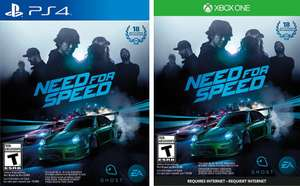 Amazon: Need for Speed para PS4 / Xbox One