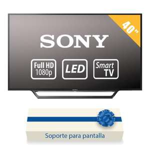 Walmart: Pantalla Sony 40 Pulgadas 1080p Full HD Smart TV LED KDL-40W650D