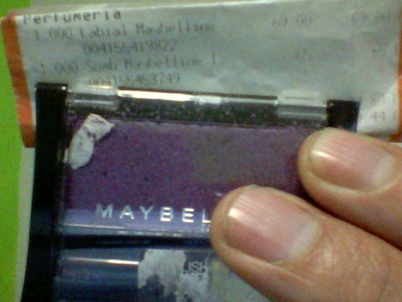 Chedraui Sombra Maybelin .65 Centavos