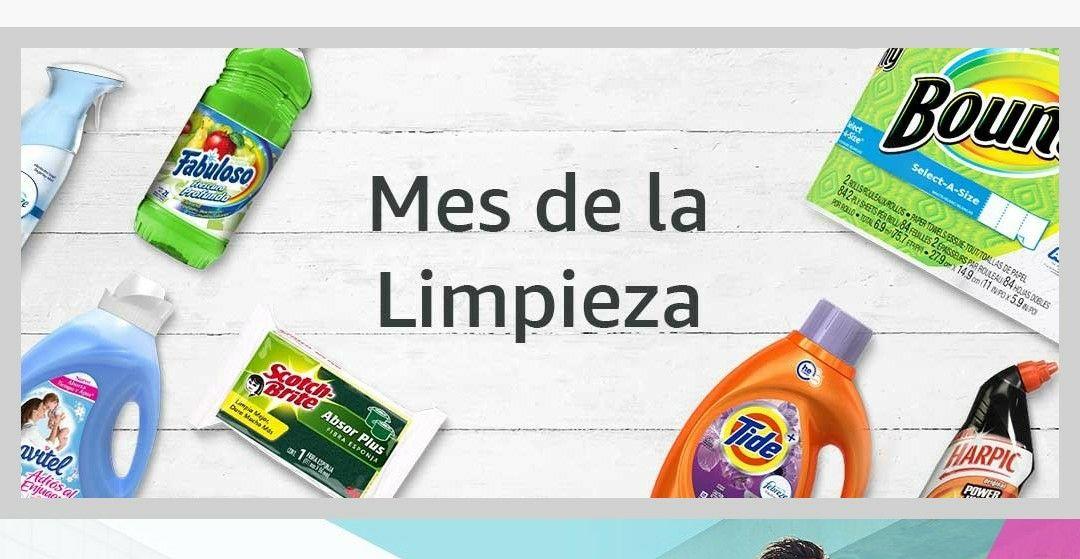 Amazon: descuentos en lavandería, papel, limpieza del hogar, baño, cocina y accesorios de limpieza