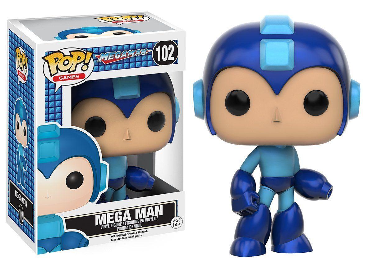 Amazon: Funko Pop Games, Megaman