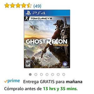 Amazon: Ghost Recon Wildlands ps4