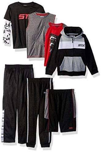 Amazon: 7 piezas de ropa deportiva Niño talla 5/6 aplica Prime