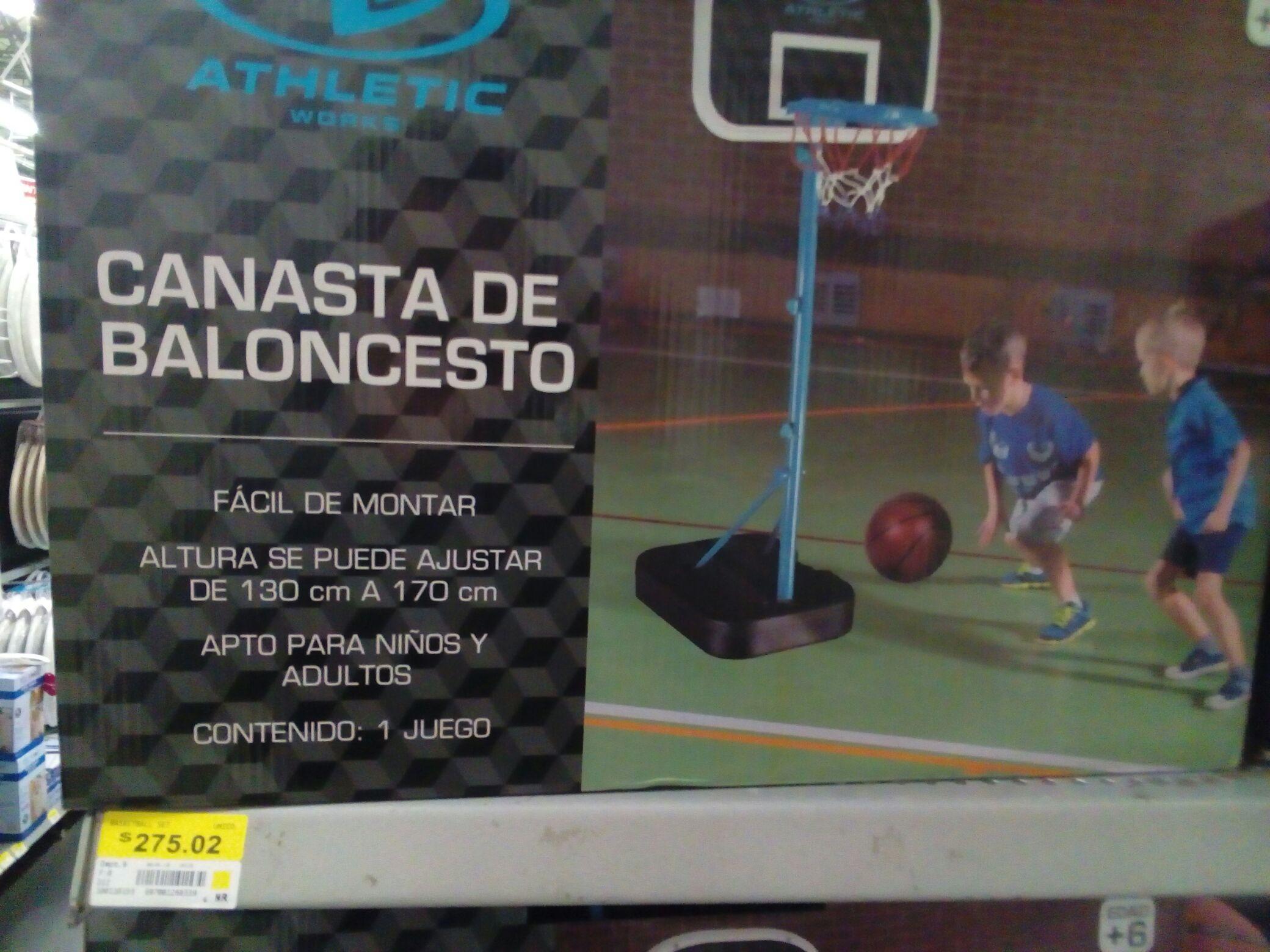 Bodega Aurrerá: Canasta de baloncesto en liquidación