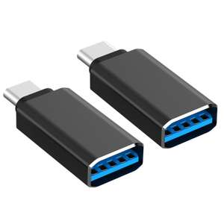 Amazon: Oferta Relampago 2x Adaptador USB 3.0 a USB 3.1 Type C (Tipo C) para MacBook, Chromebook Pixel, 5X Nexus, Nexus 6P, Nokia Tablet N1 y Más tipo