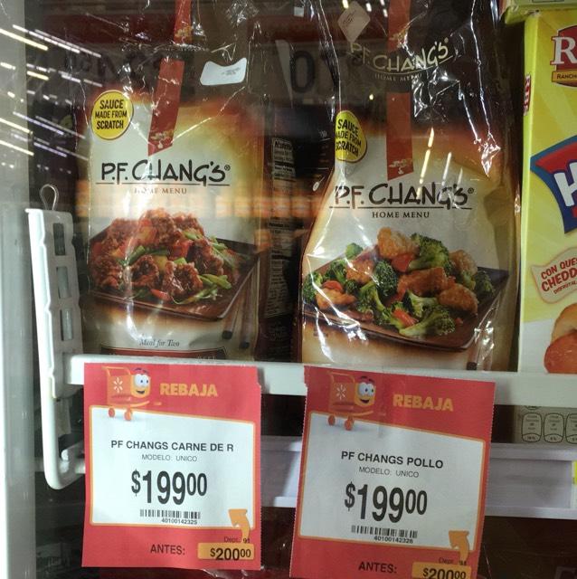 Walmart Madero: Verduras pf Changs