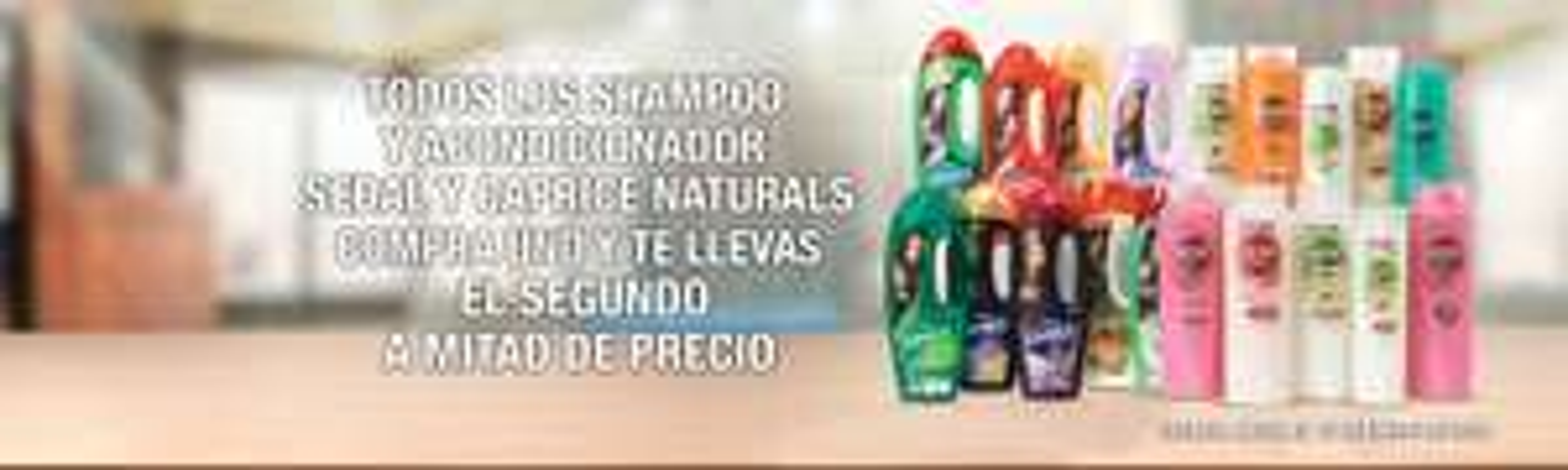 La Comer y Fresko: 2x1 1/2 en Shampoos y acondicionadores Sedal y Caprice Naturals