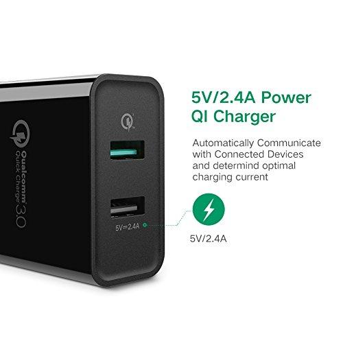 Amazon: Oferta Relámpago Cargador USB y Carga Rápida QC3.0, UGREEN 30W