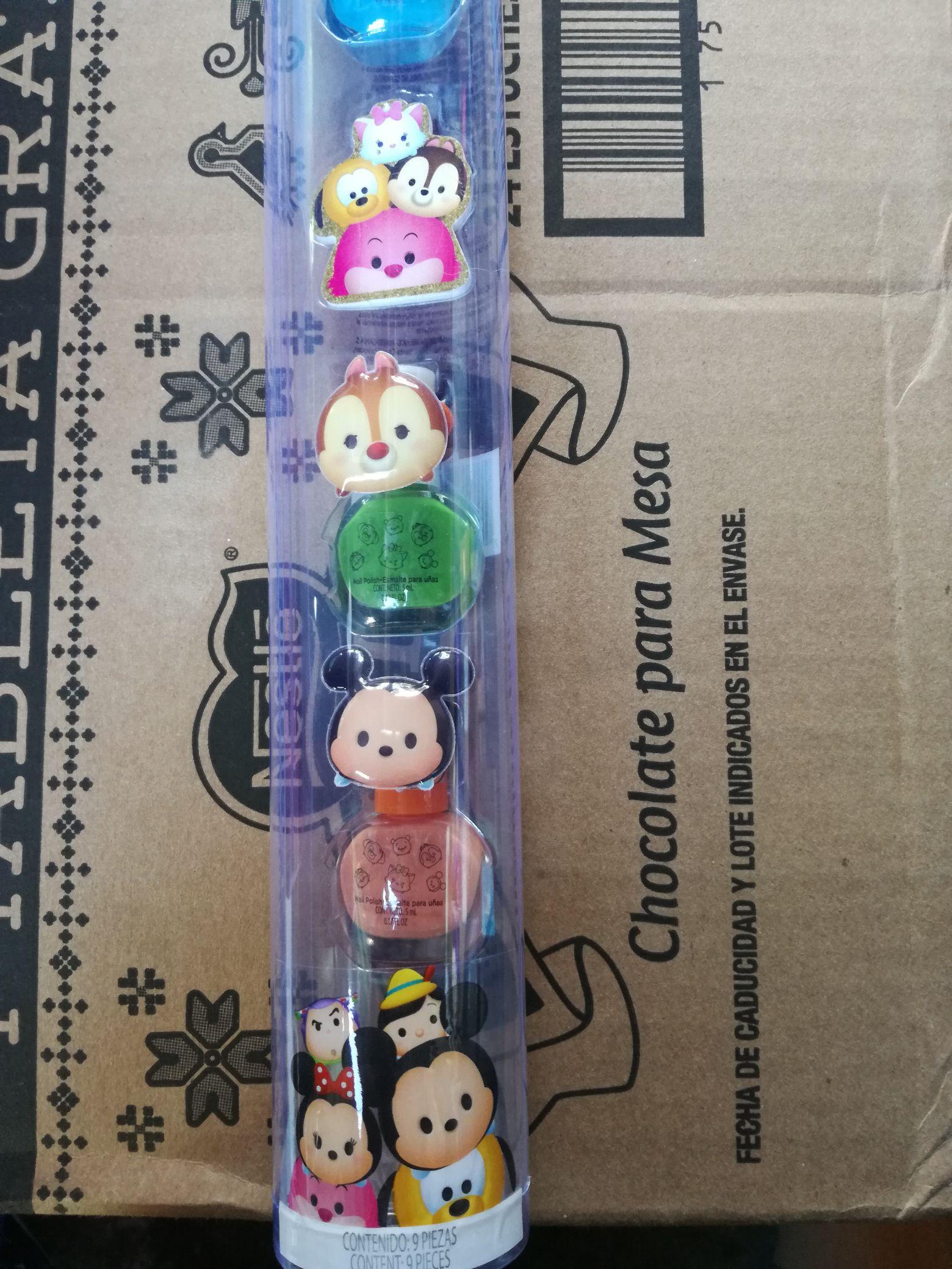 Walmart veracruz: barnices tsum tsum $15.03 ,playera minie niña $10.01,playera niño $10.01