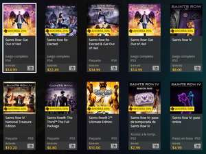 Ofertas Semanales PSN Store Saints Row.