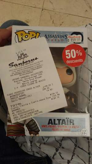 Sanborns Funko Assassins Creed:Altair