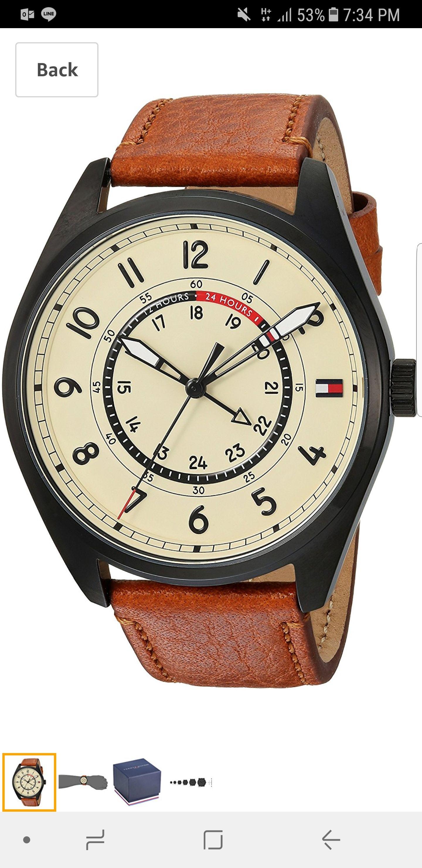 Amazon USA: Reloj Tommy Sport Model: 1791372