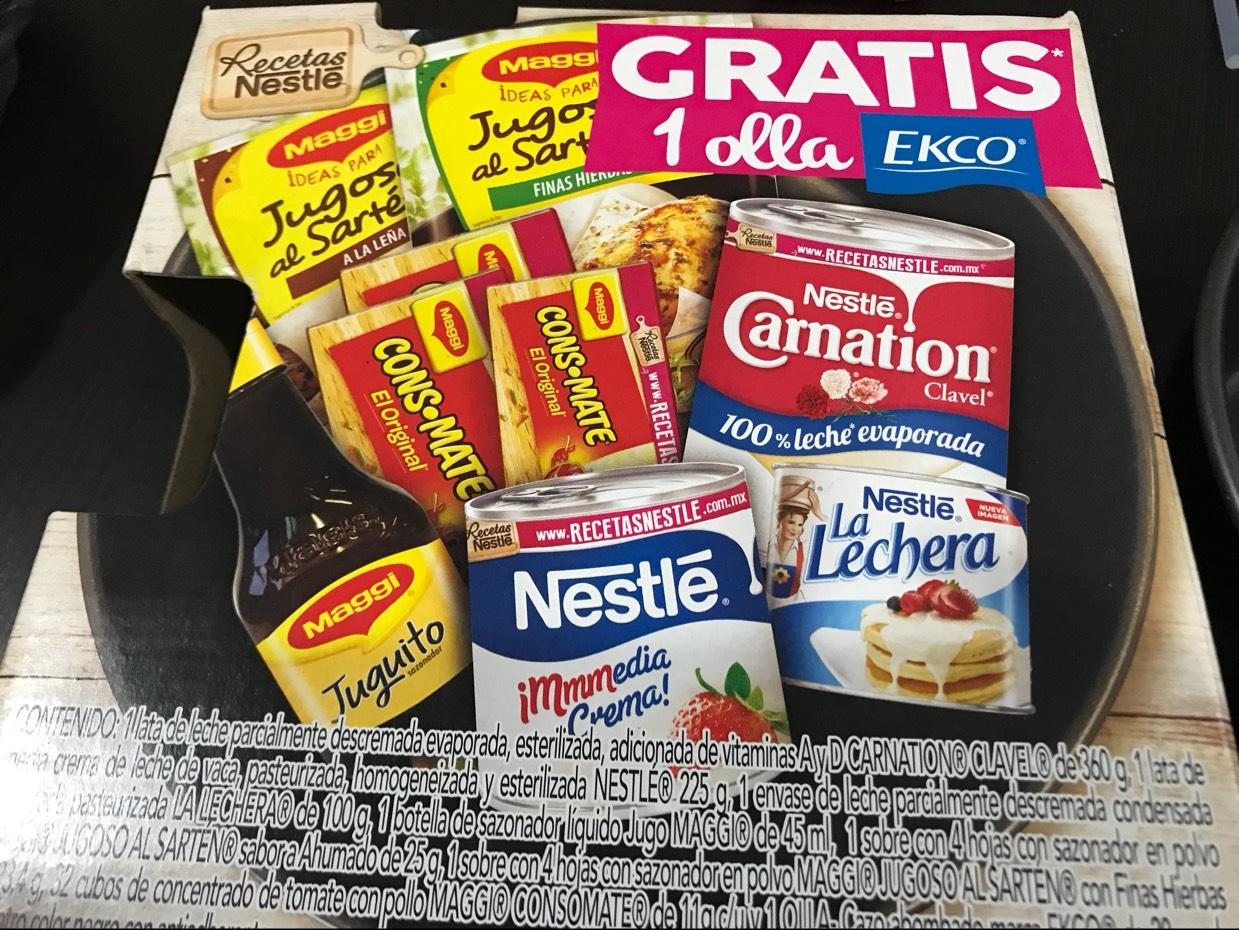 Walmart: Nestlé pack con olla ecko de regalo