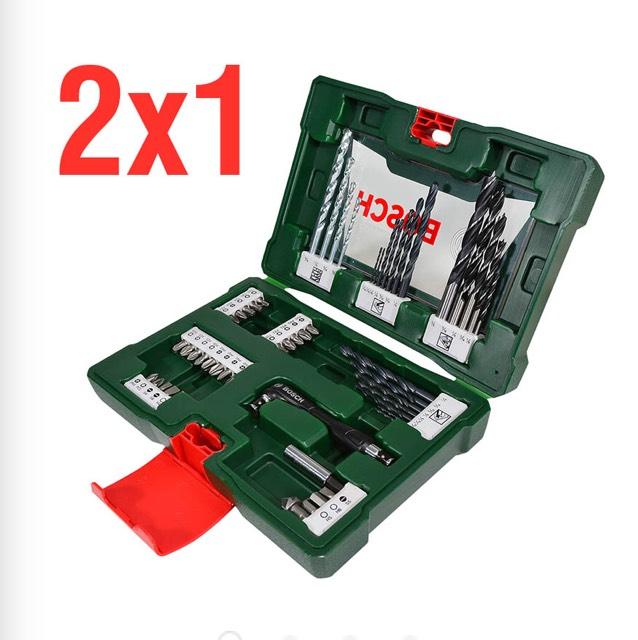 Ferrepat: 2X1 Set Brocas BOSCH 52 piezas