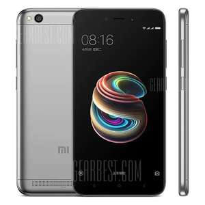 GearBest: Xiaomi Redmi 5A 4G Smartphone Global Version  -  GRAY