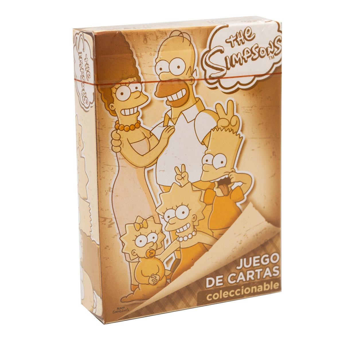"""Chedraui online: Baraja Novelty de  Poker """"The Simpsons"""" coleccionable 1x 49, 2 x 73.5 ( 36.5 cada una)"""
