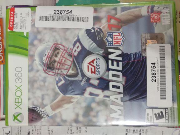 Coppel: Madden 17 para Xbox 360