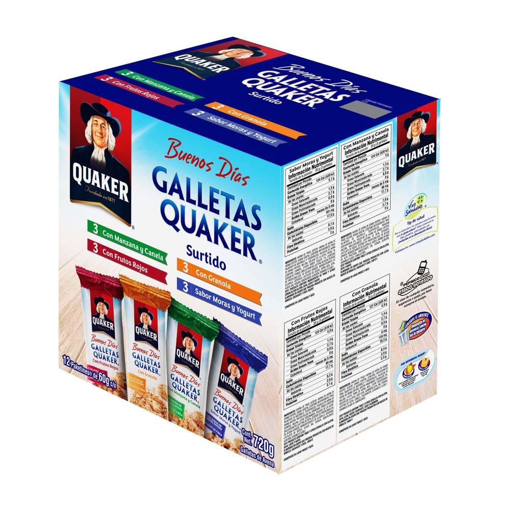Sam's Club: 2x1 en Caja de Galletas Quaker con 12 paketines