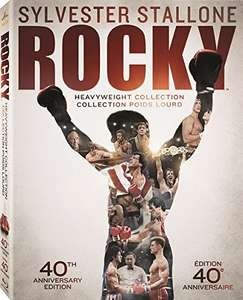 Amazon: Rocky The Heavyweight Collection,  Bluray