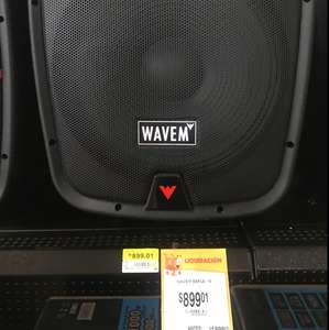 "Walmart: Bafle 15"" Wavem Bluetooth"