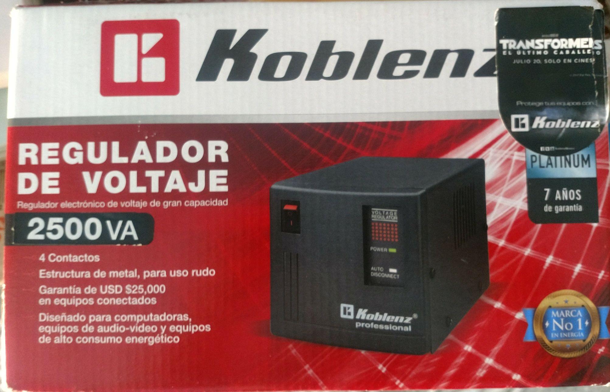 Chedraui: Regulador Koblenz ER-2550