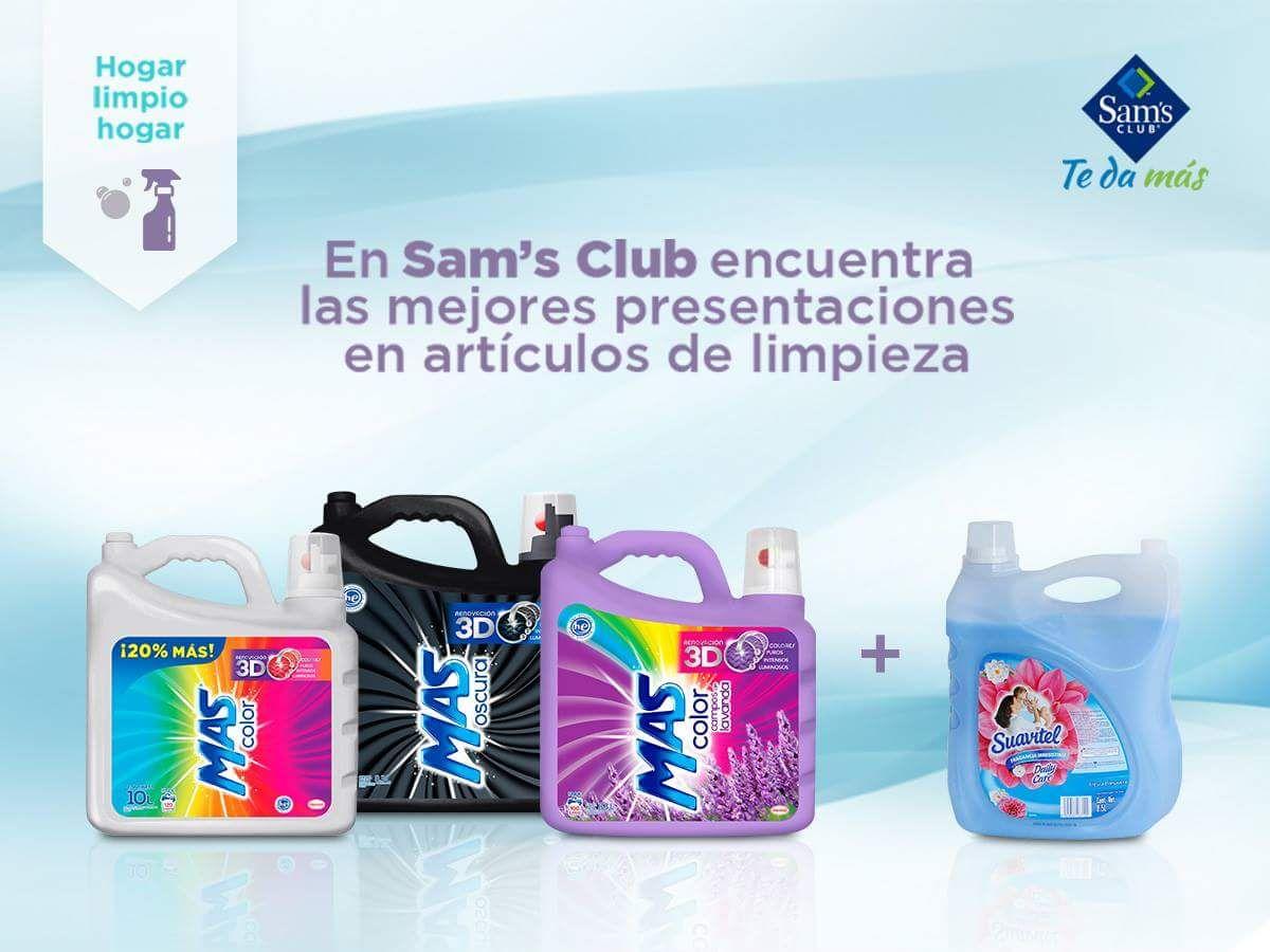Sams club Más Color + Suavitel