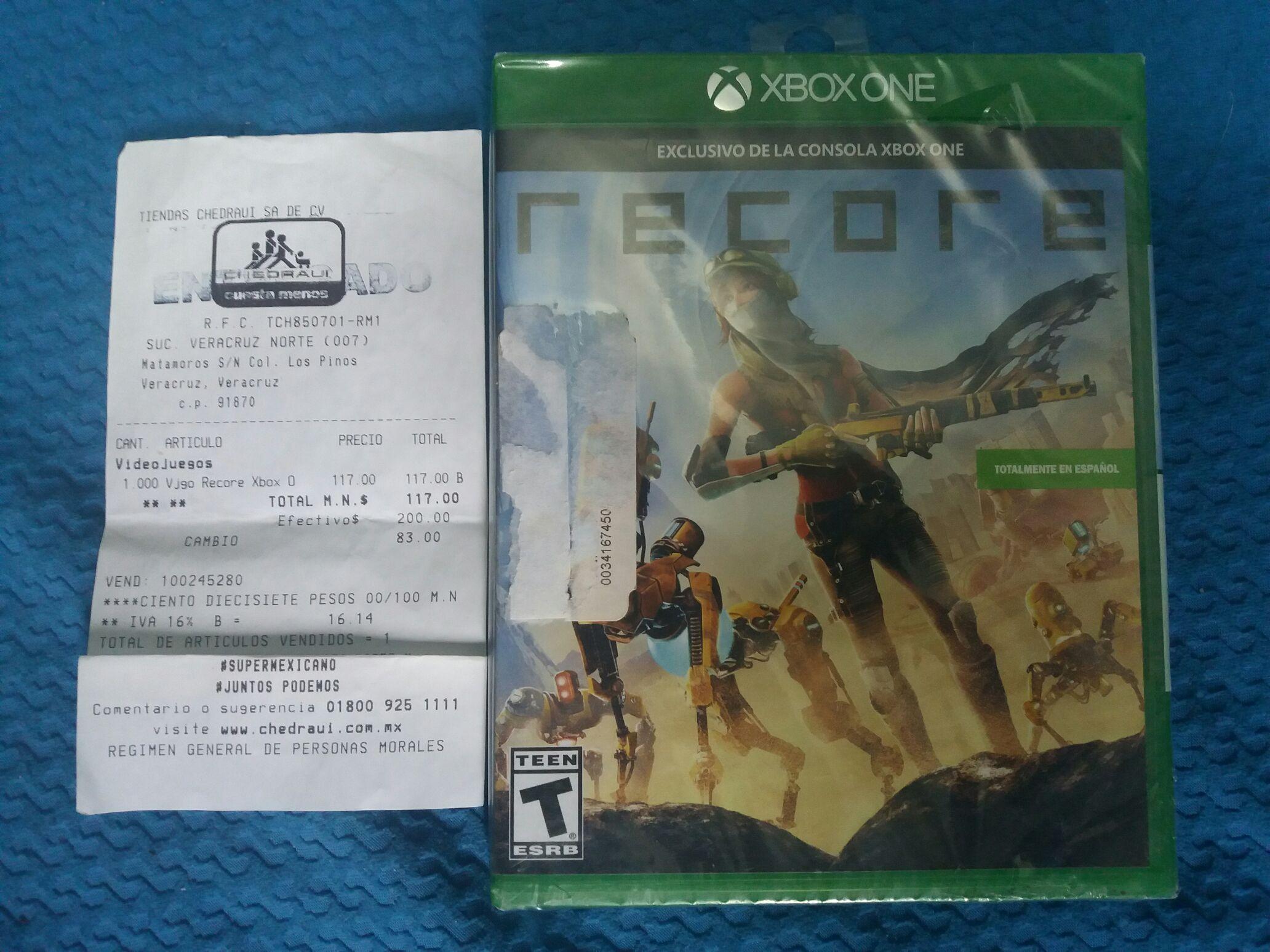 Chedraui Matamoros, Veracruz: Recore para Xbox One
