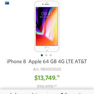 Sam's Club: iPhone 8 64 GB AT&T