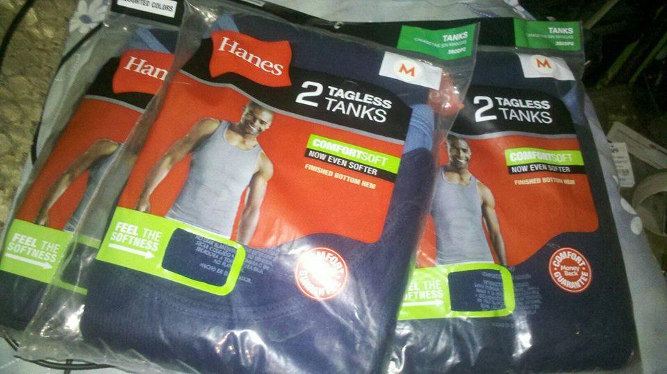 Walmart: camisa interior hanes 2 piezas