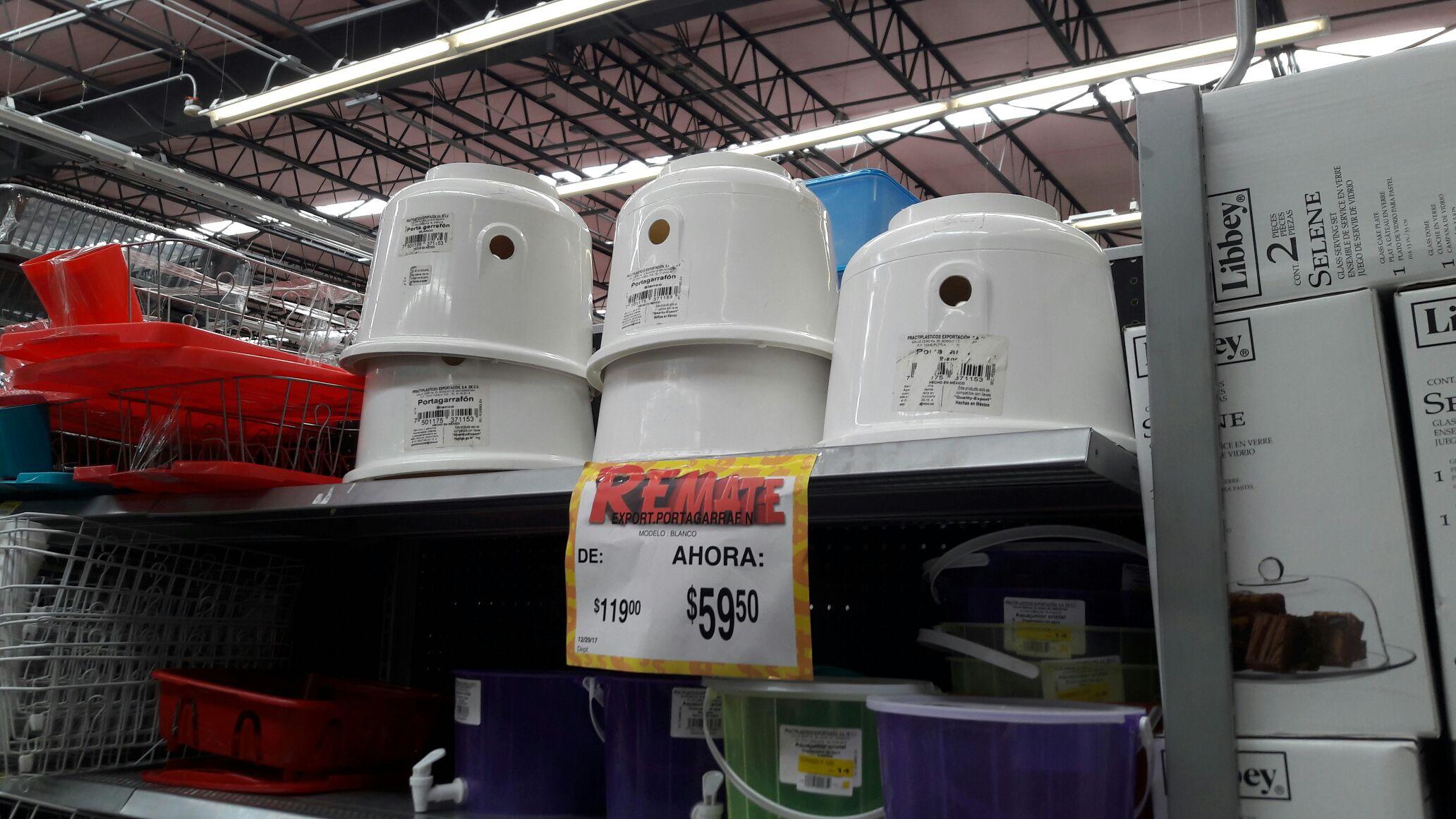 Bodega Aurrerá Multiplaza Cancun: Portagarrafon plastico