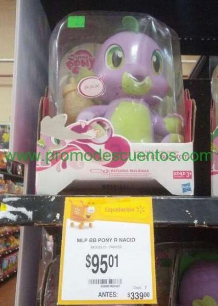 Walmart: bicicleta Huffy R20 $495, dragon de My Little Pony $95 (de $339) y más