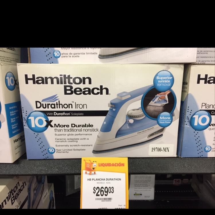 Walmart: Plancha Hamilton a $269.03