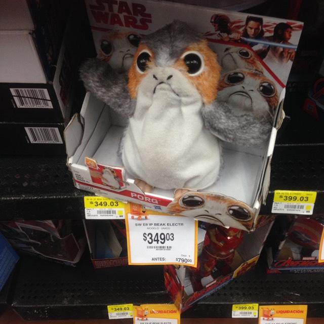 Walmart : Star Wars Porg
