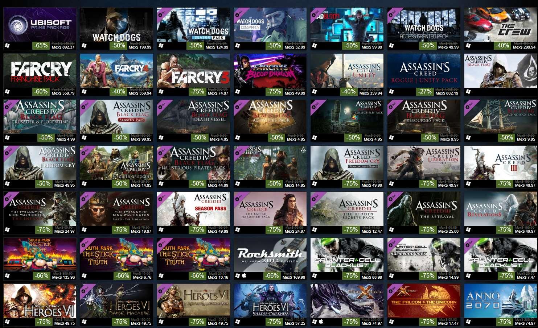 Steam: venta especial Ubisoft y fin de semana gratis Payday 2 y Red Faction Guerrilla
