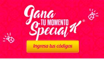 Gana con Special K; Descuentos en privalia, curves, netshoes, sports world y mas.