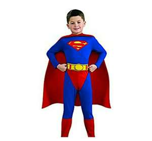 Amazon: Disfraz Superman Talla 12-14 (PRIME).
