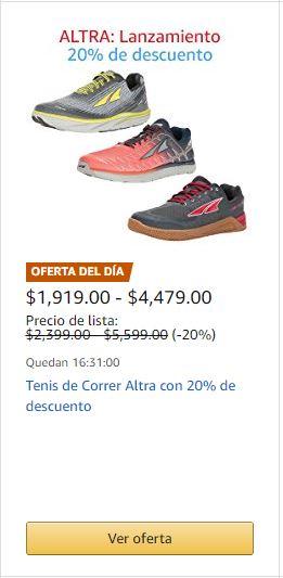 Amazon: - 20% de descuento en tenis para correr ALTRA