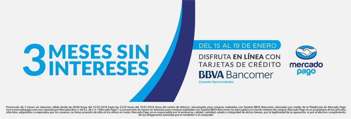 Gamers: 3MSI Bancomer/Mercado Pago