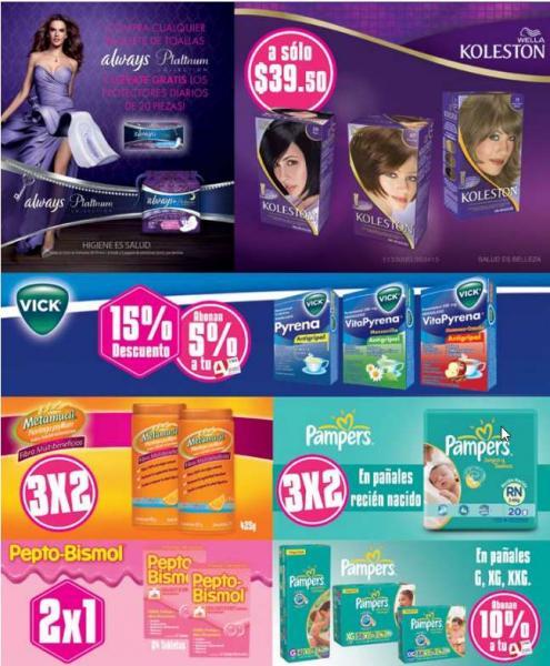 Folleto de ofertas en Farmacia del Ahorro de marzo 2014