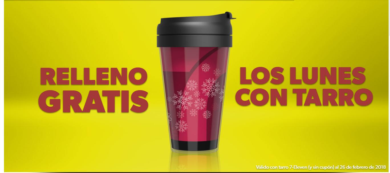 7-Eleven relleno GRATIS de café los lunes SIN CUPON