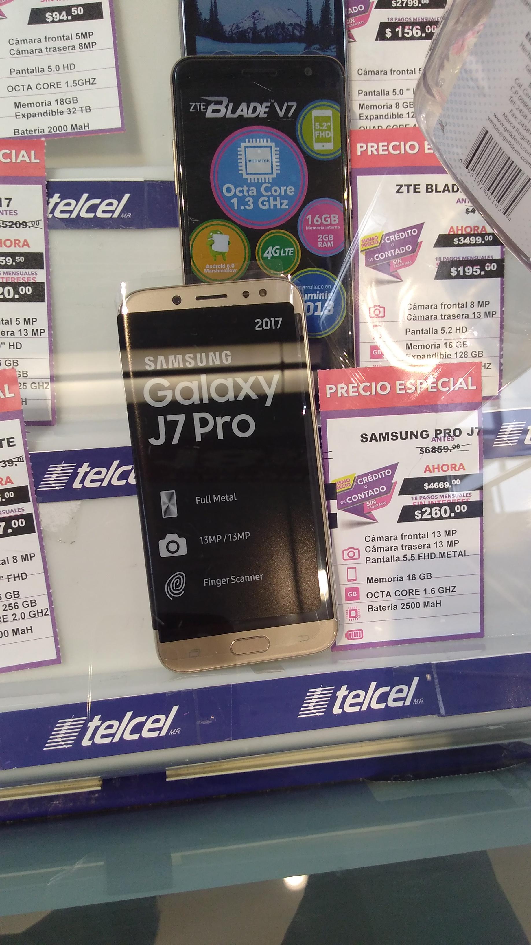 Suburbia: Líquidación Galaxy J7 PRO $4,669.00