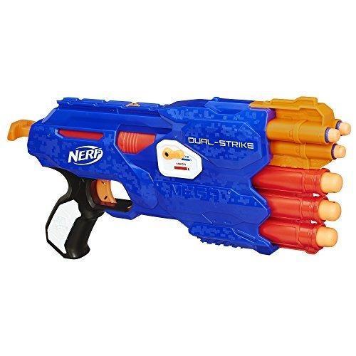 CHEDRAUI Cristal Vhsa: Pistola Nerf Dual Strike