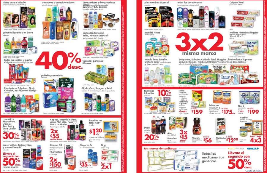 Farmacias Benavides: 40% de descuento en shampoos, tintes, jabones, 3x2 en pañales, pilas y más