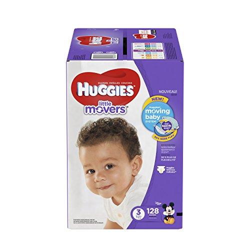 HUGGIES Paquete de 128 Pañales ETAPA 3